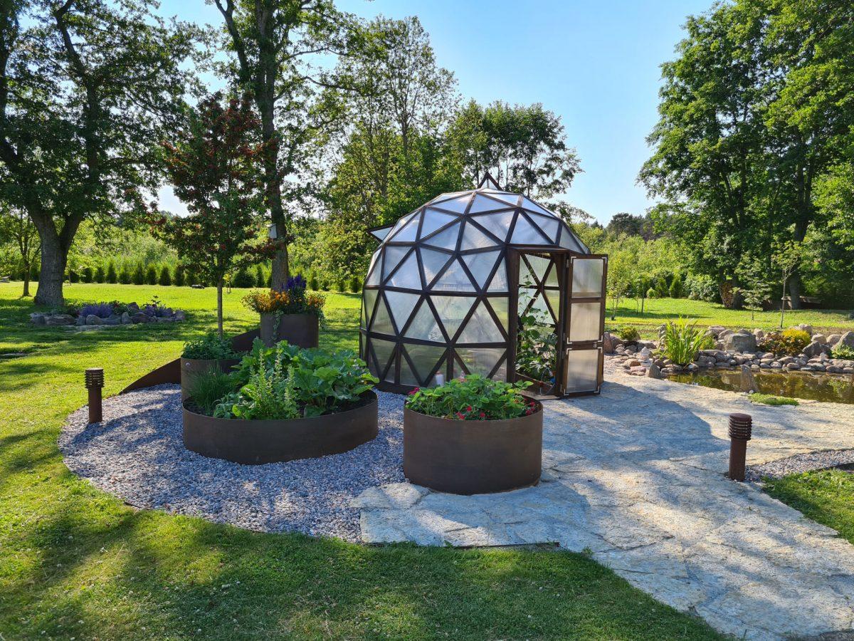 serre geodesique vida habitat materiaux